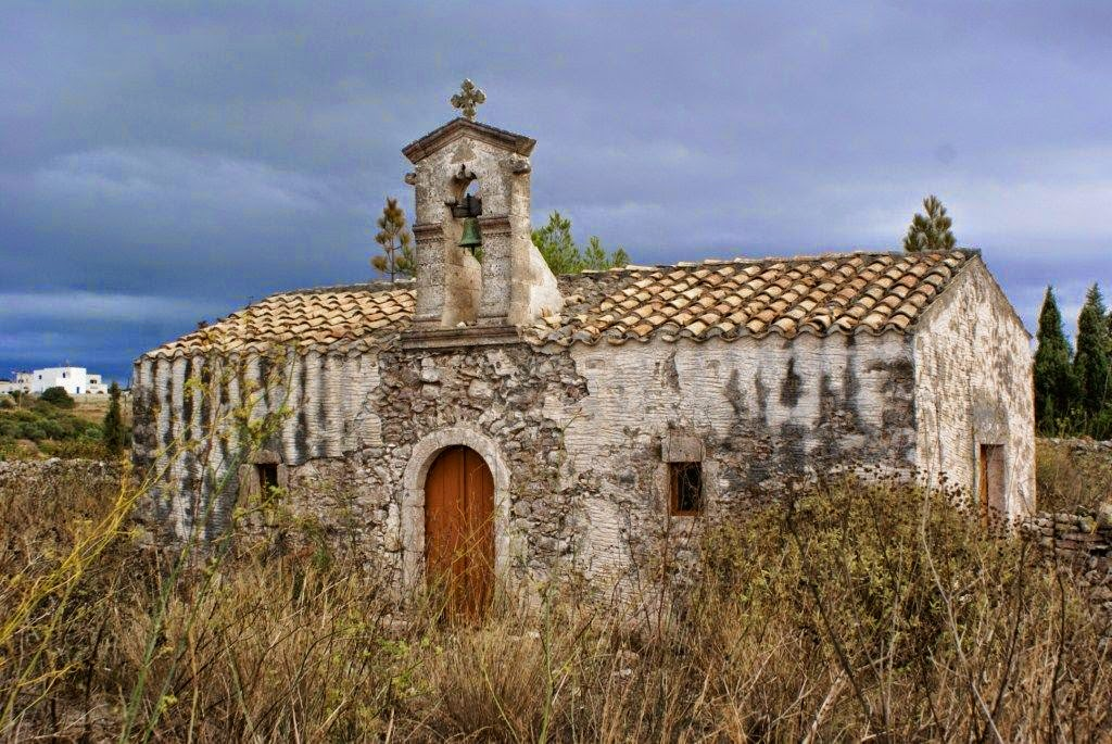 Het eiland Kythira - overal oude kerkjes