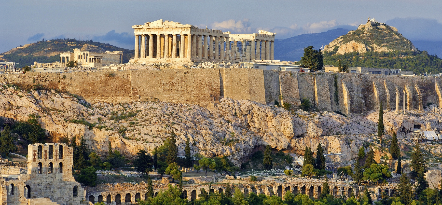 Overnachting in Athene - de Acropolis