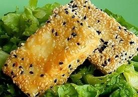 Eten op zijn Grieks -Tiri saganaki