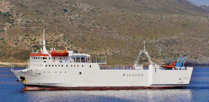 Vaarschema Ferry Porfyrousa - Ferry Porfyrousa
