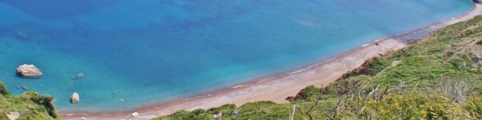 Het eiland - Fyri Ammos, een rood strand