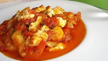 Eten op zijn Grieks - Garides saganaki