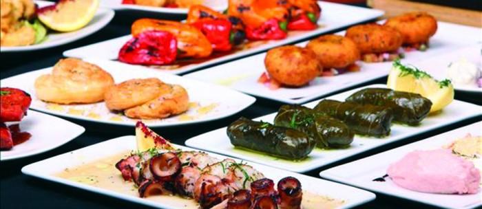 Eten op zijn Grieks - Mezedes schotel