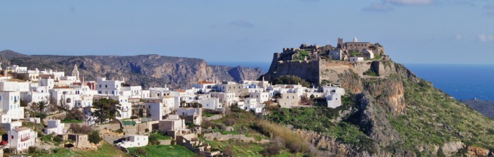 View of Chora and the Kastro