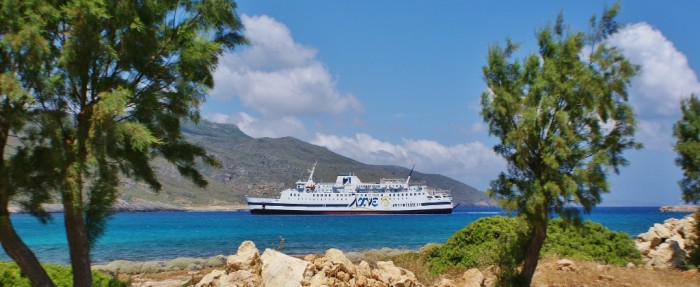 Bereikbaarheid Kythira - haven van Kythira