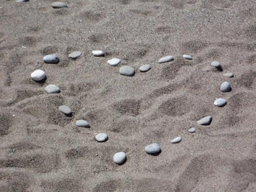 De Kythira Kriebel - hart