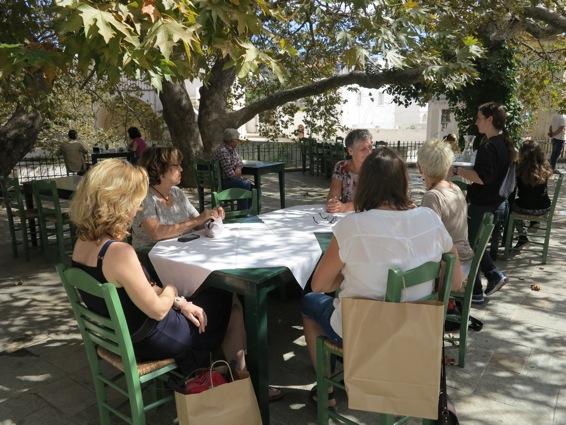 Persoonlijke ontwikkeling in Griekenland - lunchtijd