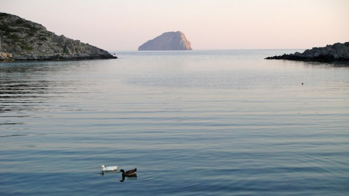 Sea views in Kythira; photo by Jessica Martinetti (Creative Commons)