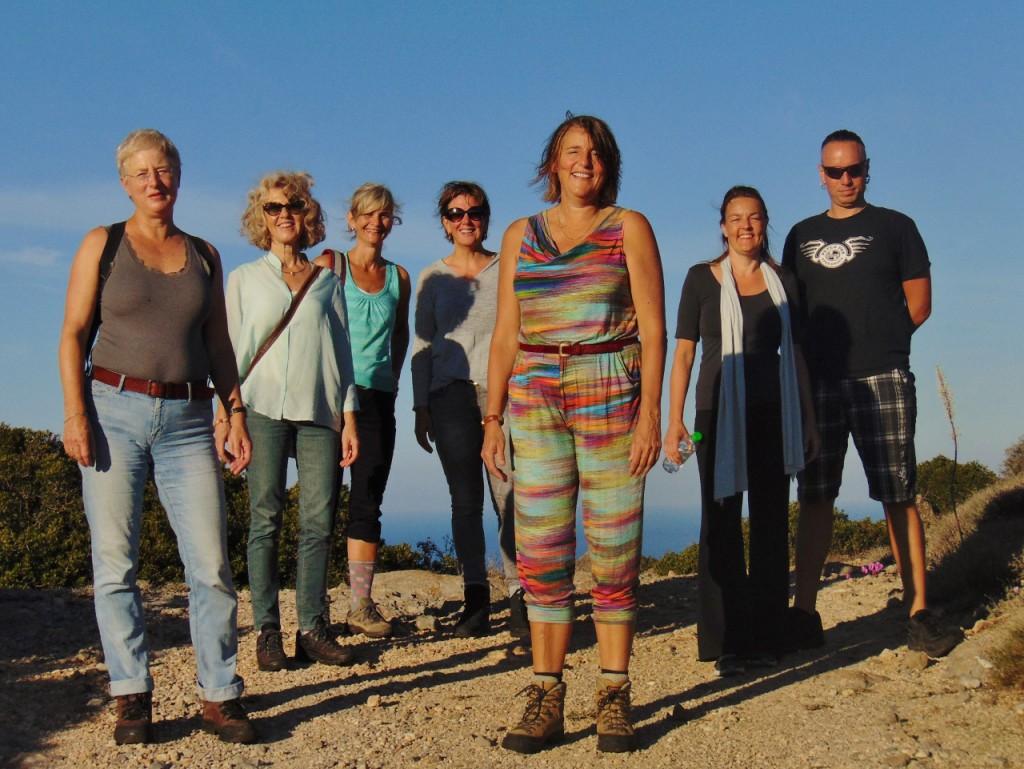 Persoonlijke ontwikkeling op een Grieks eiland - deel van de groep 2015
