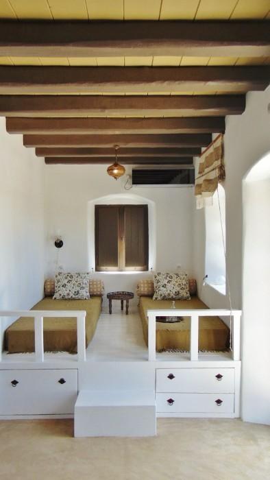 De Olijf Suite - loungebed