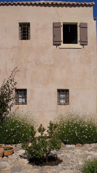 Het guesthouse - binnenplaats (1)