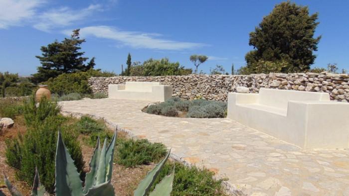 Het guesthouse - terras