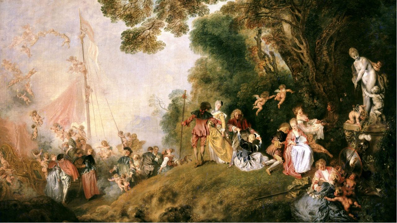 Watteau - Embarkation for Cythera