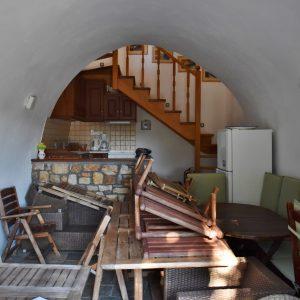 Livingroom with kitchen ground floor